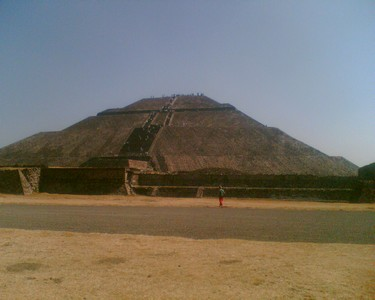 Teotihuacan01 Pyramid of the Sun